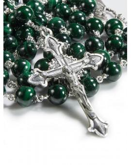 Malachite Rosary