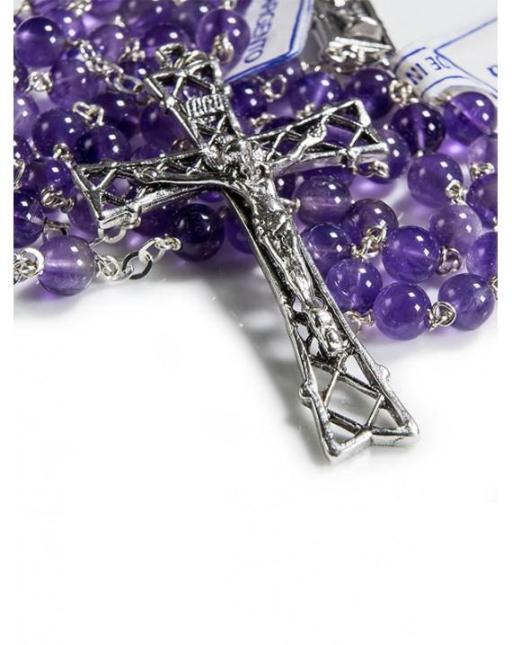 Amethyst Rosary 7mm beads