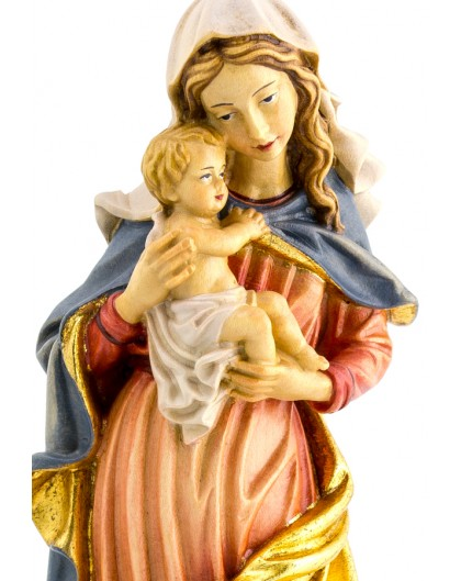 Baroque Virgin Mary gold - Height: 40 cm - 15,7 inches