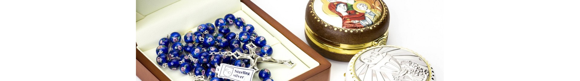 Beautiful Rosary Boxes | Rosary Cases Online – Vatican Gift Shop