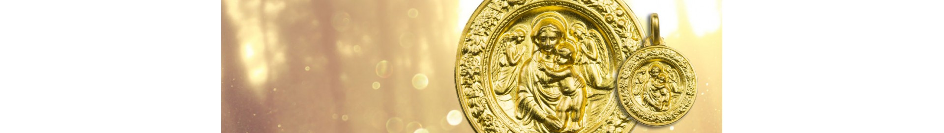 Gold Plated Saint Medals Online – The Vatican Gift Shop